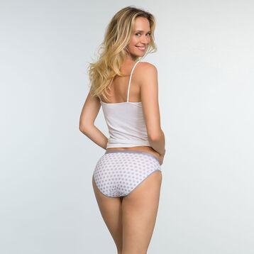 Lot de 3 culottes en coton stretch Renard Gris Les Pockets, , DIM