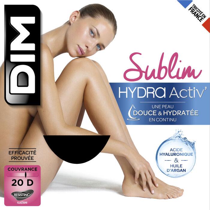 Collant noir hydratant 20D Dim Sublim HydraActiv, , DIM