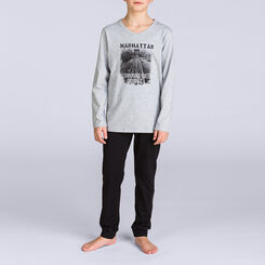 Pyjama long Nuit City DIM BOY, , DIM