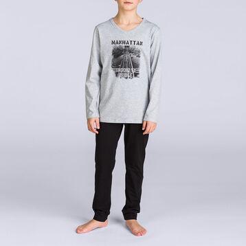 Pyjama long Nuit City DIM BOY-DIM
