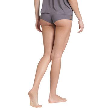 Shorty de pyjama gris taupe Femme-DIM