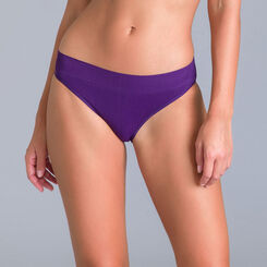 Slip collection 60 ans violet nocturne-DIM