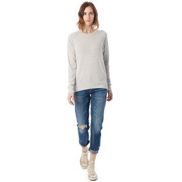 Sweatshirt gris clair Eco-Jersey™ Femme-DIM