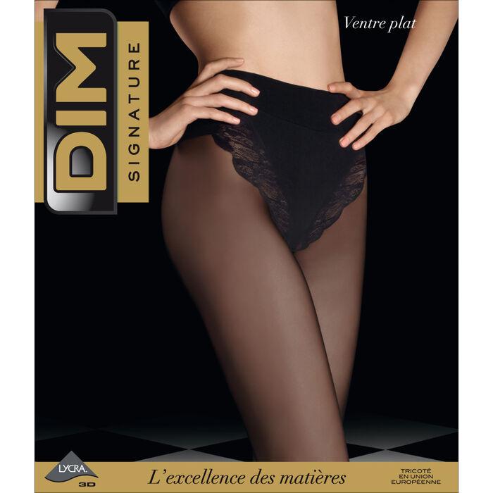 Collant DIM SIGNATURE noir Ventre Plat 20D, , DIM