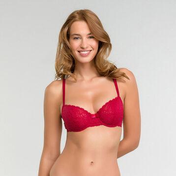 Soutien-gorge corbeille rouge impérial - Dim Sublim Dentelle, , DIM