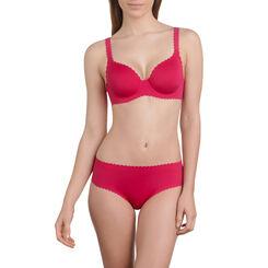 Soutien-gorge à armatures rouge gourmand Body Touch-DIM
