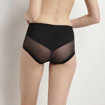 Culotte taille haute invisible noire Generous Limited Edition de Dim, , DIM