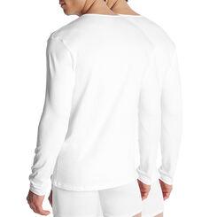 Lot de 2 T-shirts blancs manches longues Dry & Cool-DIM
