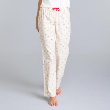 Pantalon de pyjama rose nacre Soft & Cool-DIM