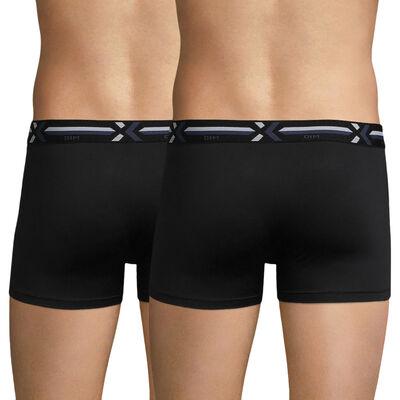 Lot de 2 boxers noirs - X-temp Active, , DIM