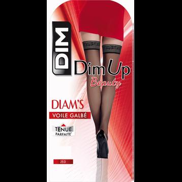DIM Up noir Diam's Voile Galbé 25D-DIM