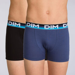 Lot de 2 boxers navy blue Eco Dim DIM BOY-DIM