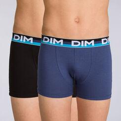 Lot de 2 boxers navy blue Eco Dim DIM BOY, , DIM