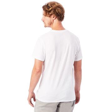 T-shirt 100% coton bio manches courtes blanc Homme-DIM