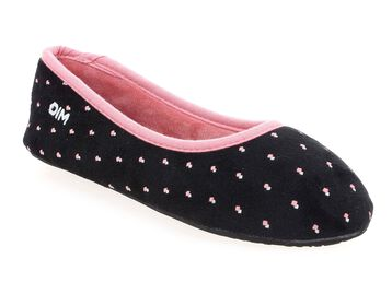 Chaussons noirs Femme-DIM