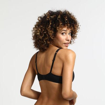 Soutien-gorge noir Femme Generous Invisible, , DIM