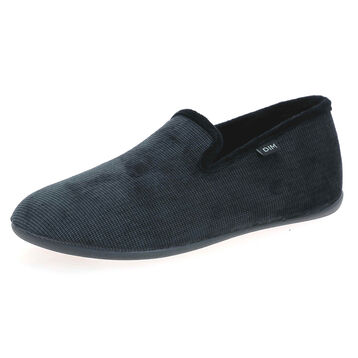 Chaussons type charentaises gris Homme, , DIM