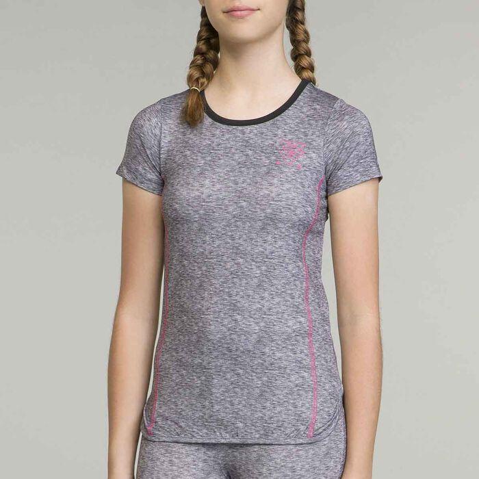 T-Shirt de sport pour fille, , DIM