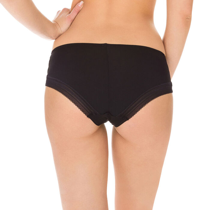 Shorty noir Invisi Fit seconde peau, , DIM