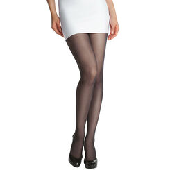 Collant noir DIM SIGNATURE Transparent Velouté confort, , DIM