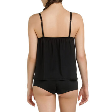 Caraco de pyjama noir Femme-DIM