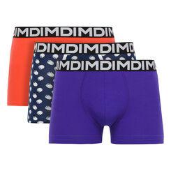 Lot de 2 boxers imprimé coquillage, MIX & FUN-DIM