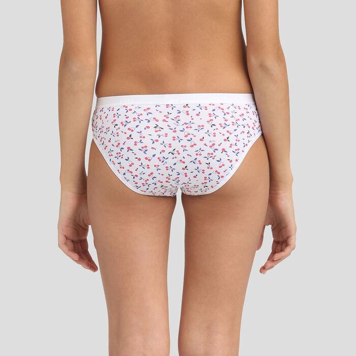 Lot de 4 culottes en coton pour filles Les Pockets Cherry, , DIM