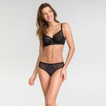 Soutien-gorge corbeille dentelle noir - Dim Daily Glam Trendy Sexy, , DIM