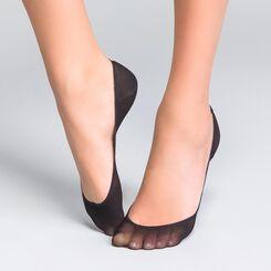 Lot de 4 protège-pieds noirs EcoDIM opaques 40D, , DIM