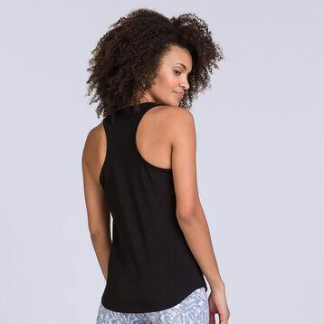 Débardeur noir Soft & Cool Femme-DIM