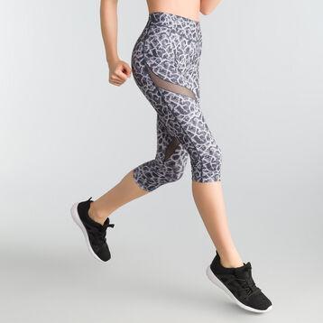 Legging court Active Wear imprimé asphalte - Shock Absorber, , DIM