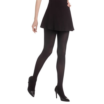 Collant noir Diam's Jambes Fuselées ultra-opaque 70D-DIM