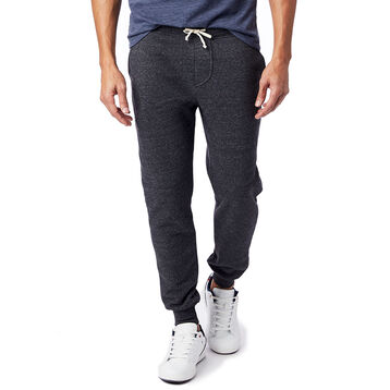 Pantalon de jogging noir Eco-Fleece Homme-DIM