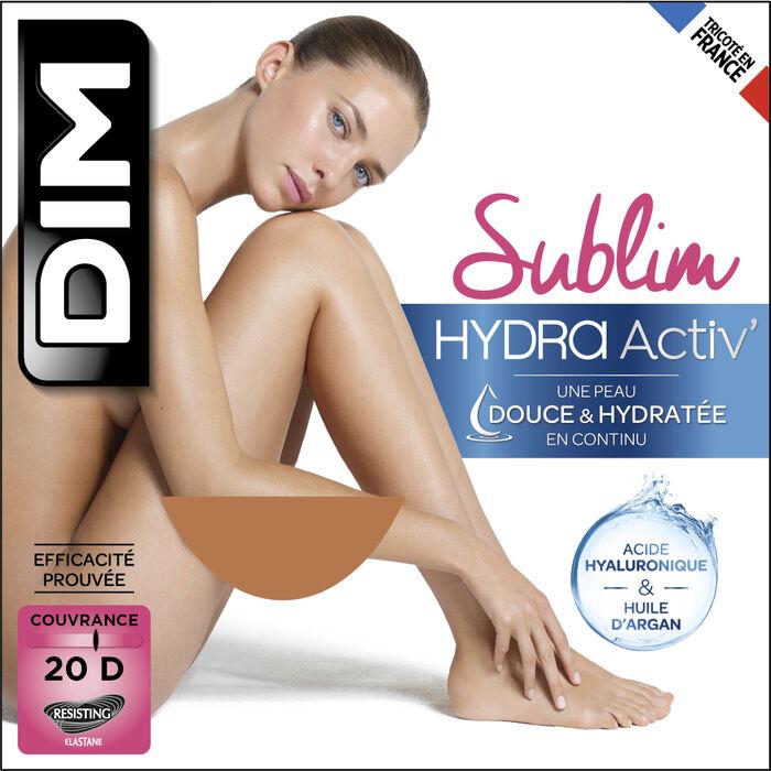Collant transparent couleur chair hydratant 20D - DIM Sublim HydraActiv, , DIM