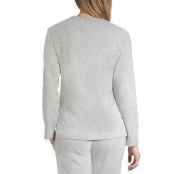 Sweatshirt de pyjama gris clair Femme-DIM