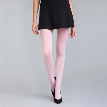 Collant opaque velouté rose blush 50D Style-DIM