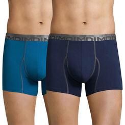 Lot de 2 boxers bleu 3D Flex Morphotech-DIM