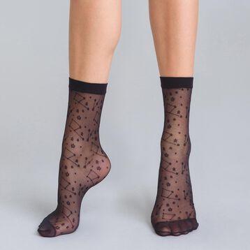 Socquettes constellations noires 18D Style-DIM