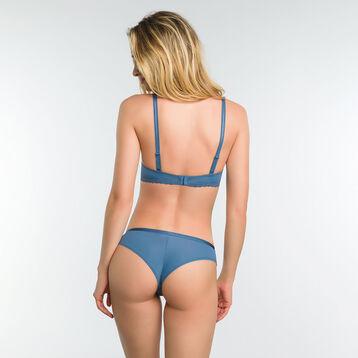 Soutien-gorge corbeille coque dentelle bleu antique - Dim Daily Glam, , DIM