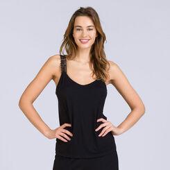 Caraco noir Pure Essential Femme-DIM