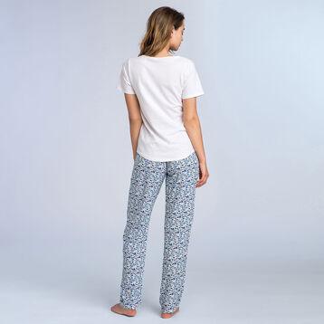 T-shirt blanc à manches courtes Soft & Cool Femme-DIM