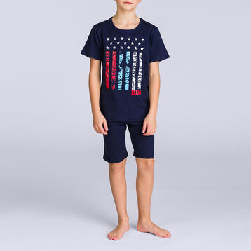 Pyjama court Nuit USA DIM BOY, , DIM