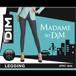 Tregging effet jean bleu clair Madame So DIM-DIM