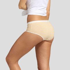 Lot de 5 boxers imprimé rayures rétro Les Pockets Coton Stretch de Dim, , DIM