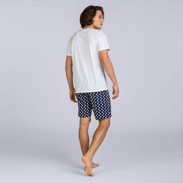 T-shirt à manches courtes blanc Night Gentleman Homme-DIM