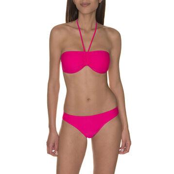 Haut de maillot de bain bandeau rose Femme-DIM