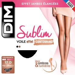 Collant Sublim Contouring miel doré 17D Femme-DIM