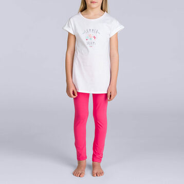 Pyjama long passion cactus DIM GIRL, , DIM