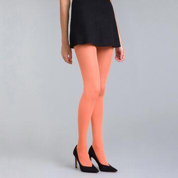 Collant opaque velouté orange saturne  50D Style-DIM