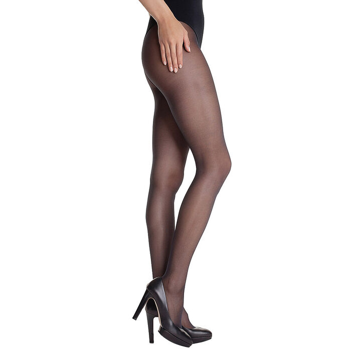 Lot de 2 collants semi-opaques noirs Diam's 22D-DIM
